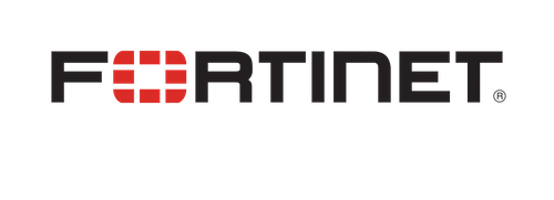 Fortinet LogoTag BlackRed Lg
